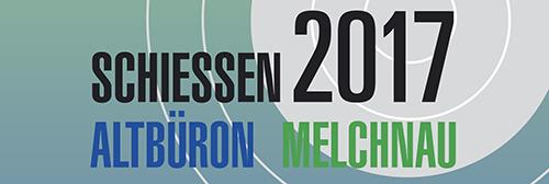 Flyer Schützenfest Altbüron Melchnau 2017
