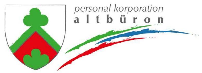 Personal Korporation Altbüron